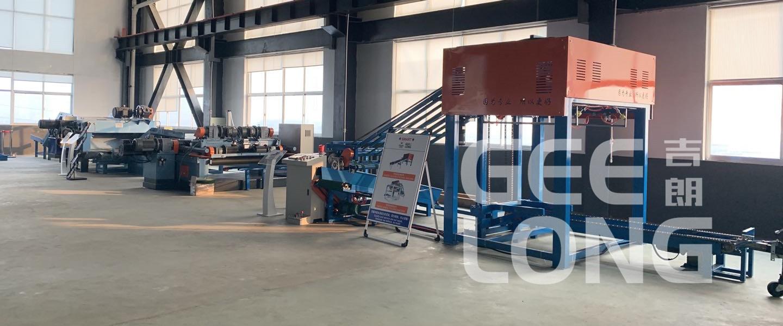 veneer peeling line machinery