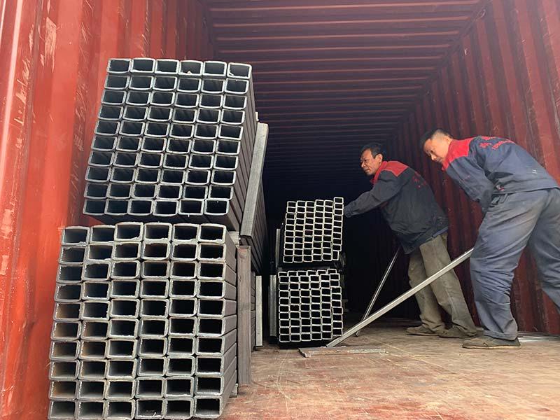 Mesin Geelong mengekspor satu kontainer