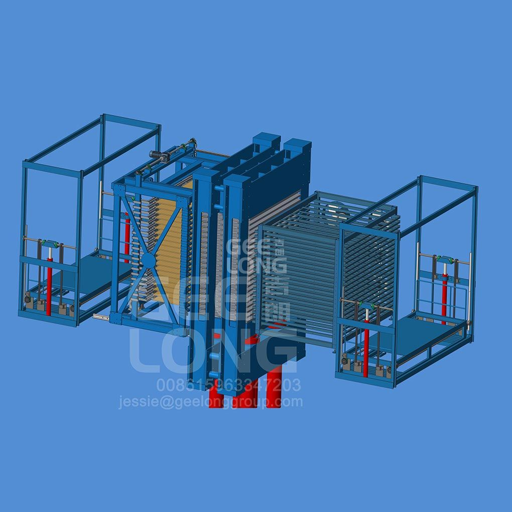 Plywood 500T 15 lapisan mesin press panas