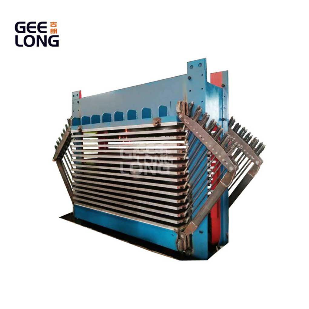 panas jenis veneer pengering mesin untuk lini produksi kayu lapis