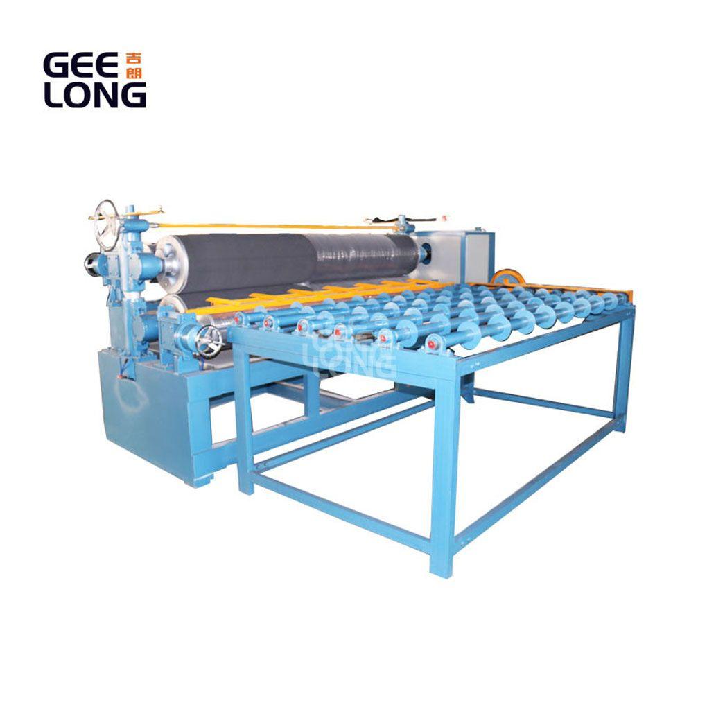 2700mm pneumatik mesin penyebar lem untuk lini produksi kayu lapis