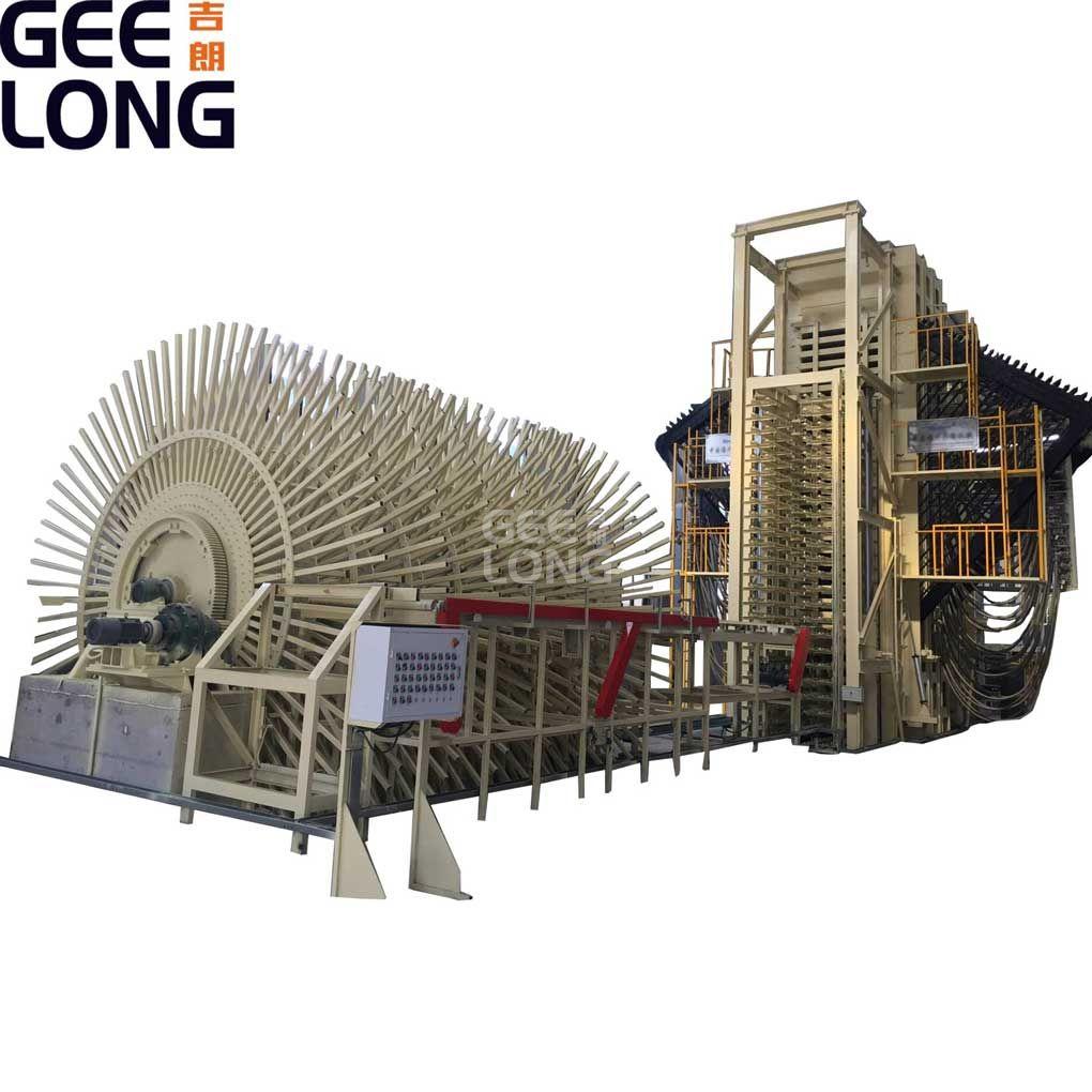OSB otomatis atau papan Partikel dan mesin lini produksi MDF