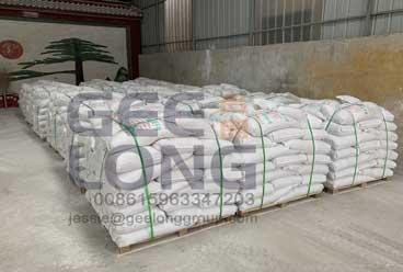 GeeLong Machinery memuat lem bubuk dempul wadah untuk kayu lapis